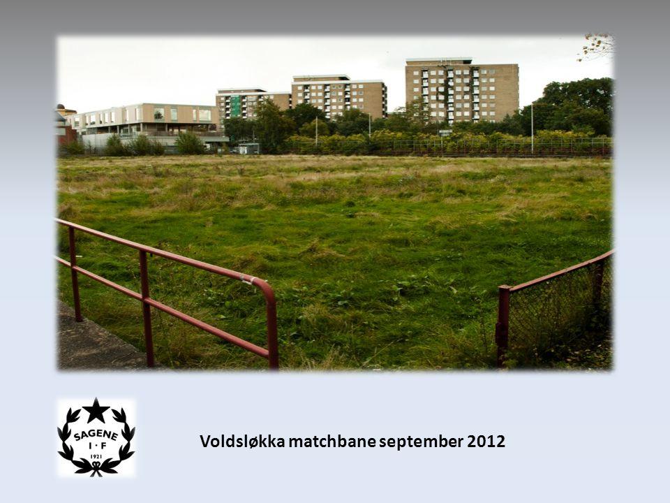 Voldsløkka matchbane september 2012