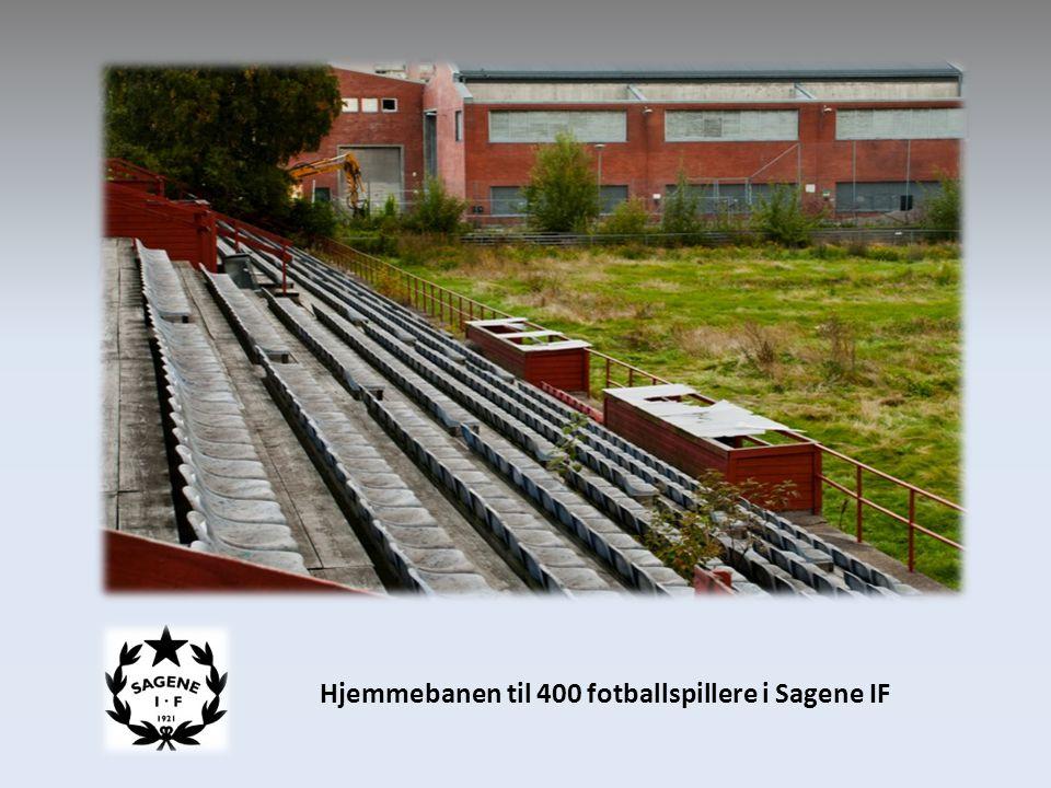 Hjemmebanen til 400 fotballspillere i Sagene IF
