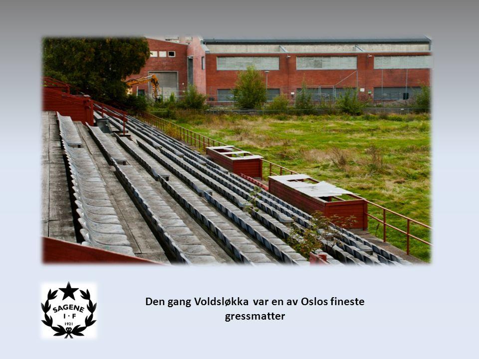 Den gang Voldsløkka var en av Oslos fineste gressmatter