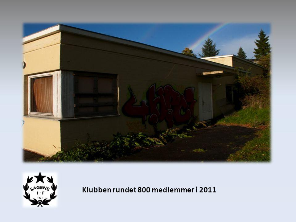 Klubben rundet 800 medlemmer i 2011