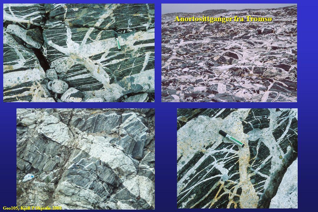 Anortosittganger fra Tromsø Geo105, Kjell P Skjerlie 2002