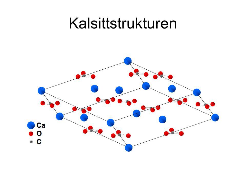 Kalsittstrukturen