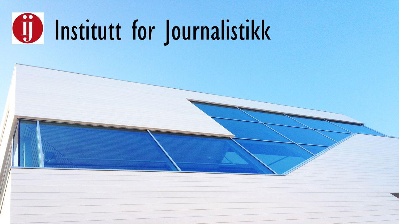 Institutt for Journalistikk