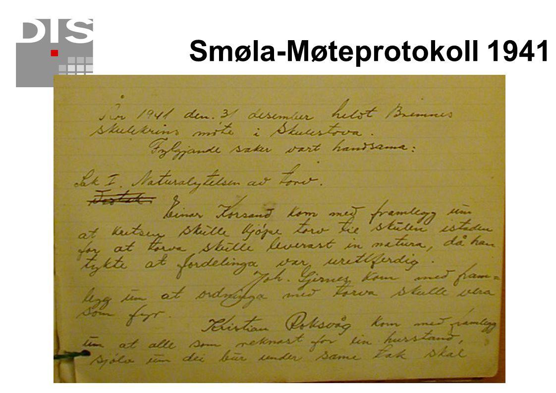 Smøla-Møteprotokoll 1941