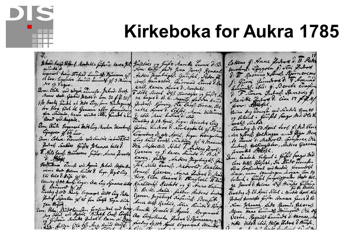 Det kommer mer på nettet  Arkivverket legger ut tinglyste dokumenter i 2008  Mange kirkebøker blir søkbare  Andre lister blir skrevet av og lagt ut på nett