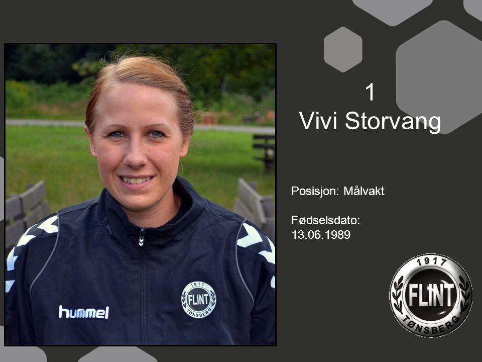 3. Charlotte Eriksen Posisjon: Bakspiller, høyre Fødselsdato: 20.03.94