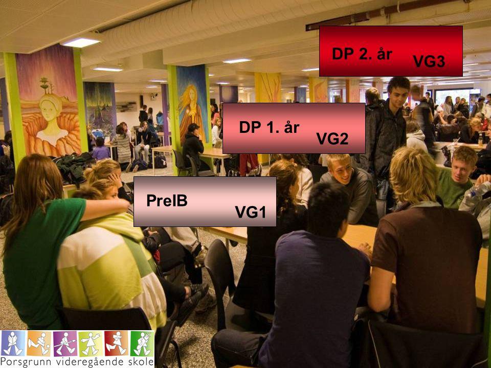 VG1 VG2 VG3 PreIB DP 1. år DP 2. år