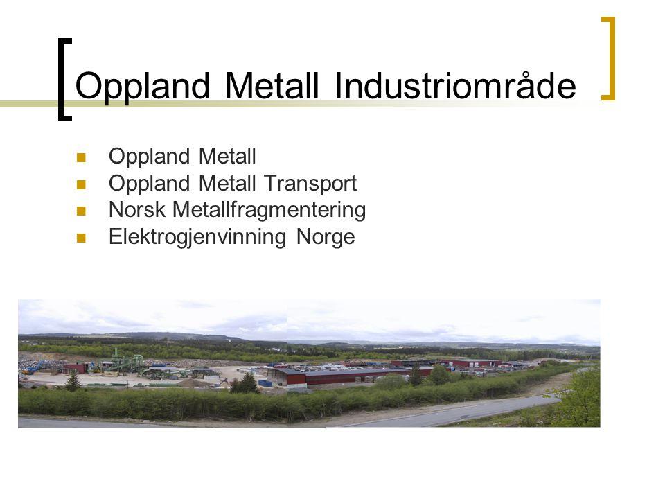 Oppland Metall AS, Postboks 46, 2801 Gjøvik. TLF:61187670. FAX:61170471 Oppland Metall Industriområde Oppland Metall Oppland Metall Transport Norsk Me