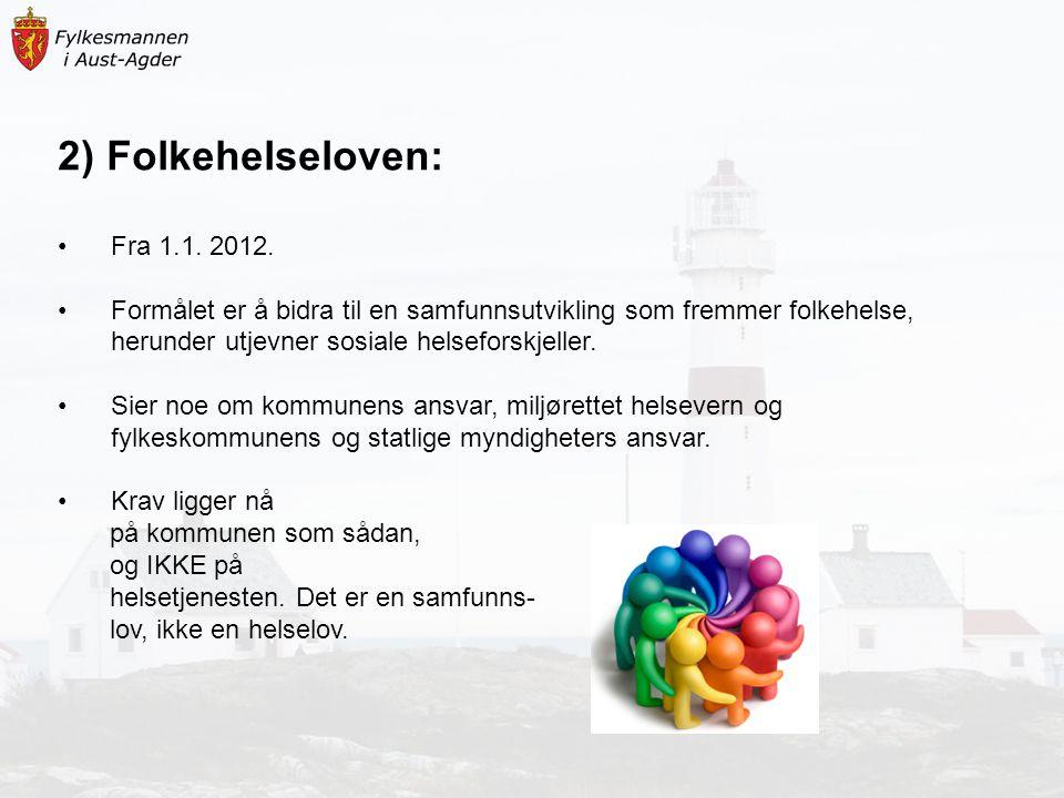 6) Eksempel til diskusjon/gruppearbeid: Presentasjon av arbeid med oversikt over helsetilstand og påvirkningsfaktorer i Nord-Gudbrandsdal (info.