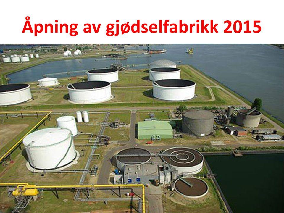 Åpning av gjødselfabrikk 2015
