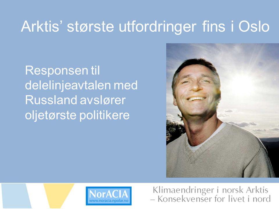 limaendringer i norsk Arktis – Knsekvenser for livet i nord Bilde av oppvarming