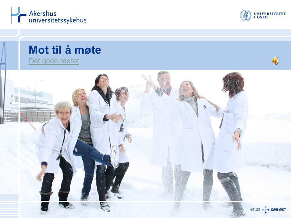Heidi Skutlaberg Wiig Palliativt team, Ahus 12 Trygghet og tillit Gi forventninger.