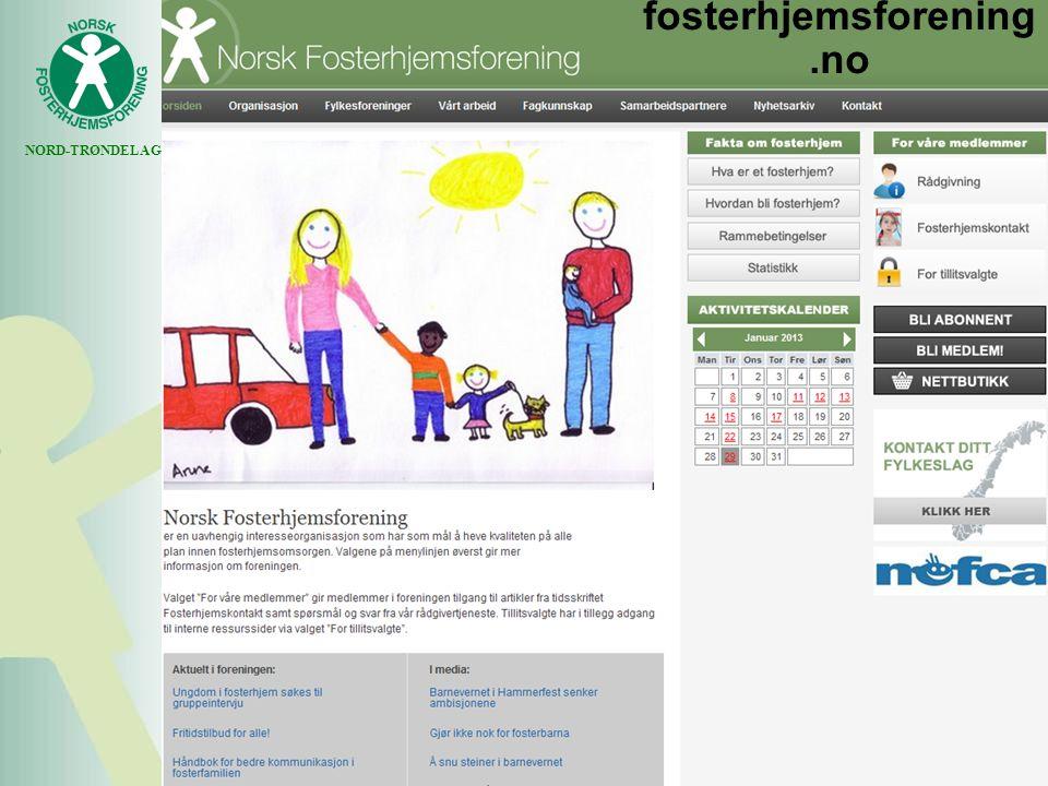 NORD-TRØNDELAG fosterhjemsforening.no