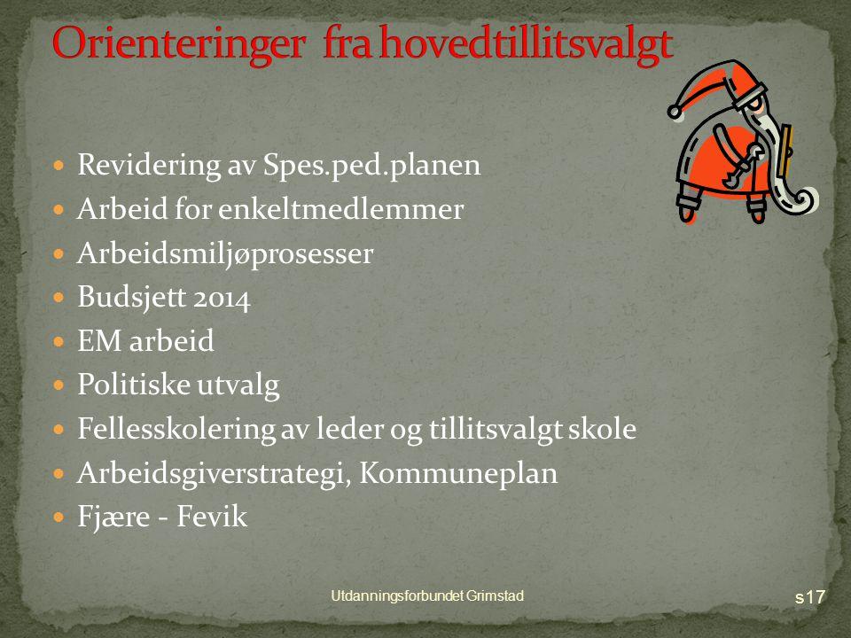 s16 Utdanningsforbundet Grimstad