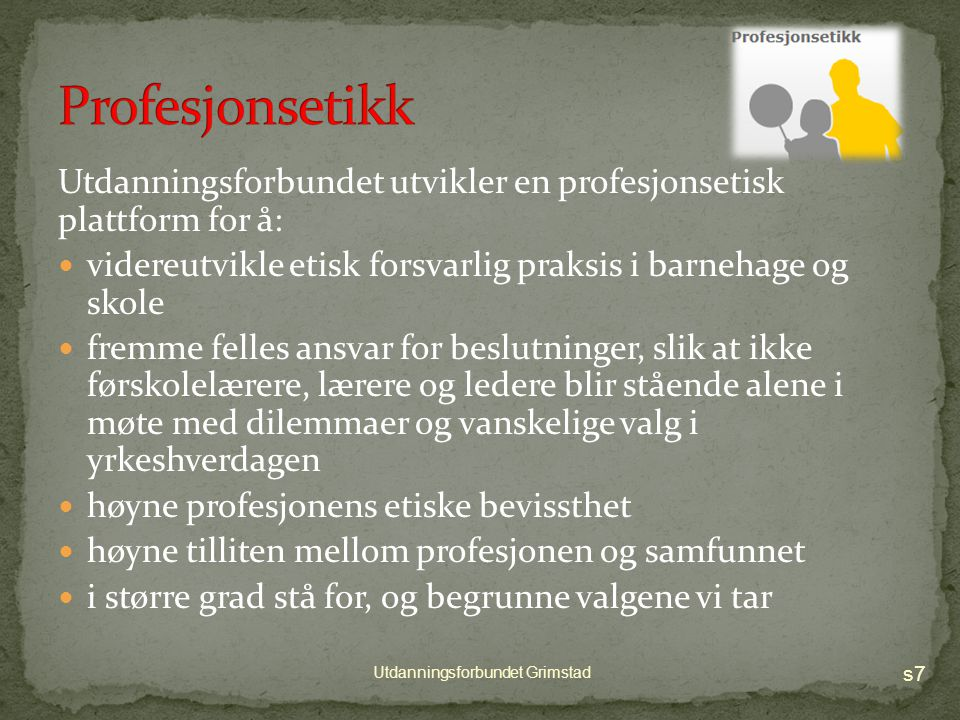 s6 Utdanningsforbundet Grimstad
