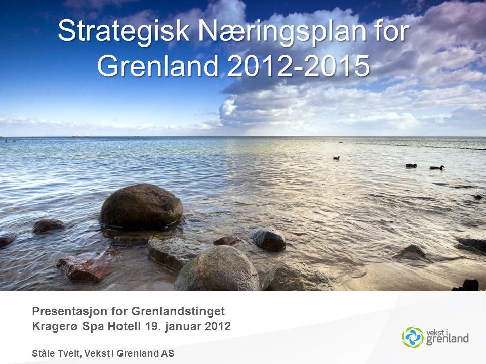 Aktiviteter høst 2011 Presentasjon for Grenlandstinget Kragerø Spa Hotell 19.