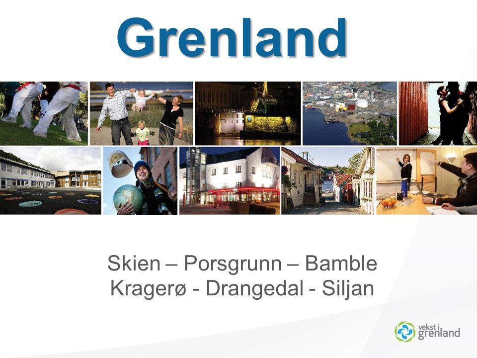Skien – Porsgrunn – Bamble Kragerø - Drangedal - Siljan Grenland