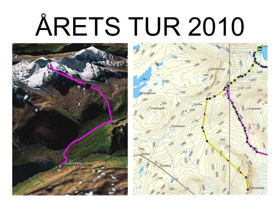 Lørdag Alternativ: –Slettmarkshø Nord (2086m) –Slettmarkshø (2190m) 13km T/R