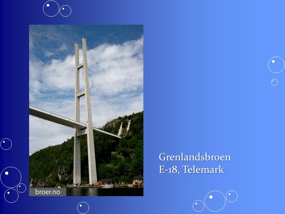 Grenlandsbroen E-18, Telemark