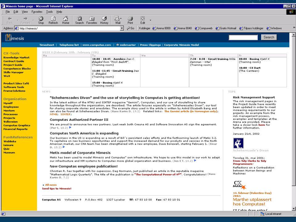 Slide 10Reproduksjon forbudt uten tillatelse fra Computas AS ©