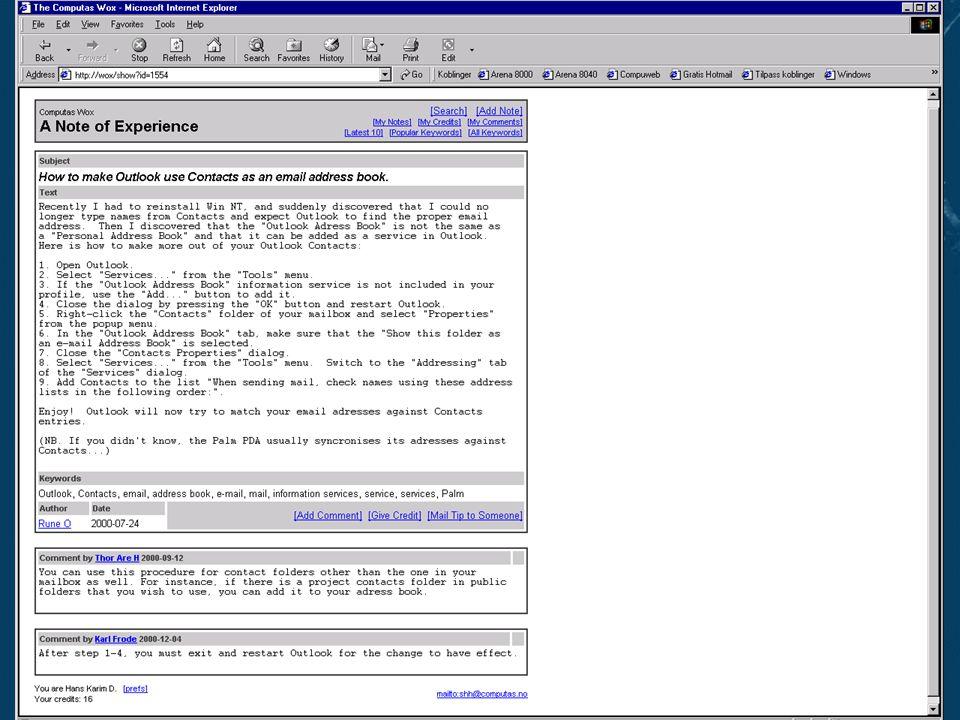 Slide 13Reproduksjon forbudt uten tillatelse fra Computas AS ©