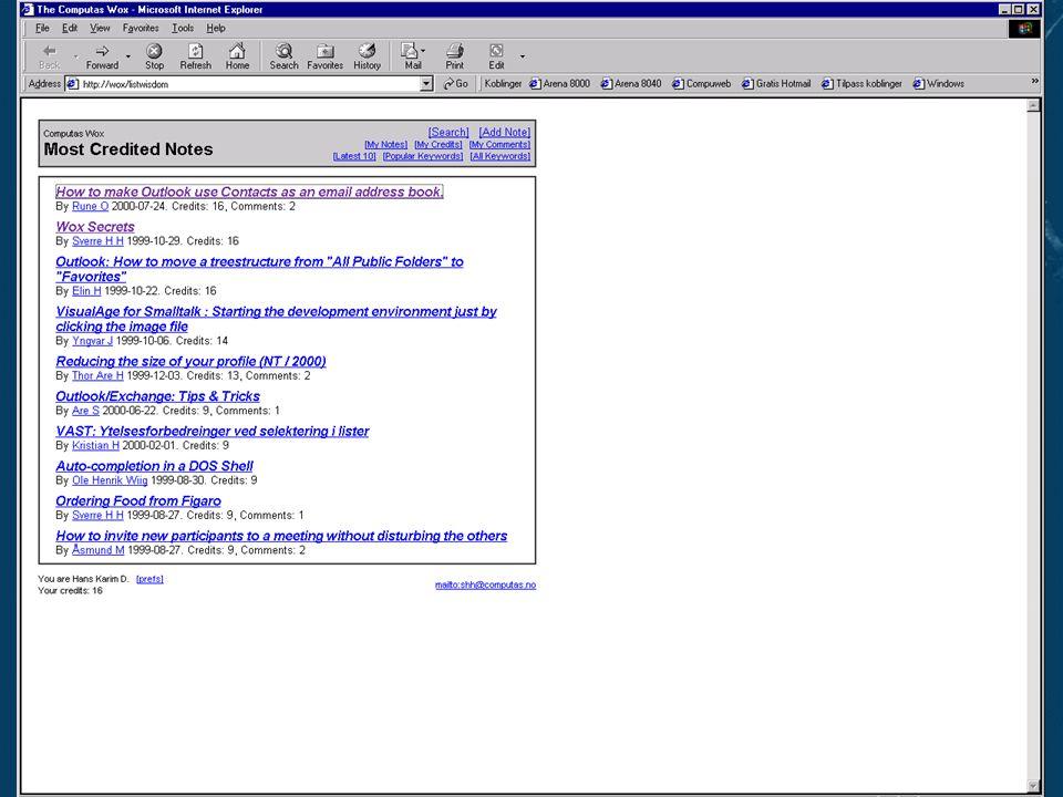 Slide 14Reproduksjon forbudt uten tillatelse fra Computas AS ©