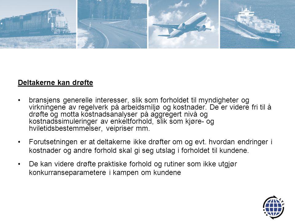 Logistikk- og Transportindustriens Landsforening Administrasjonen består av: –Tom Rune Nilsen, Adm.