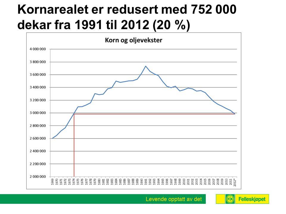 Hva med økonomien i norsk kornproduksjon?