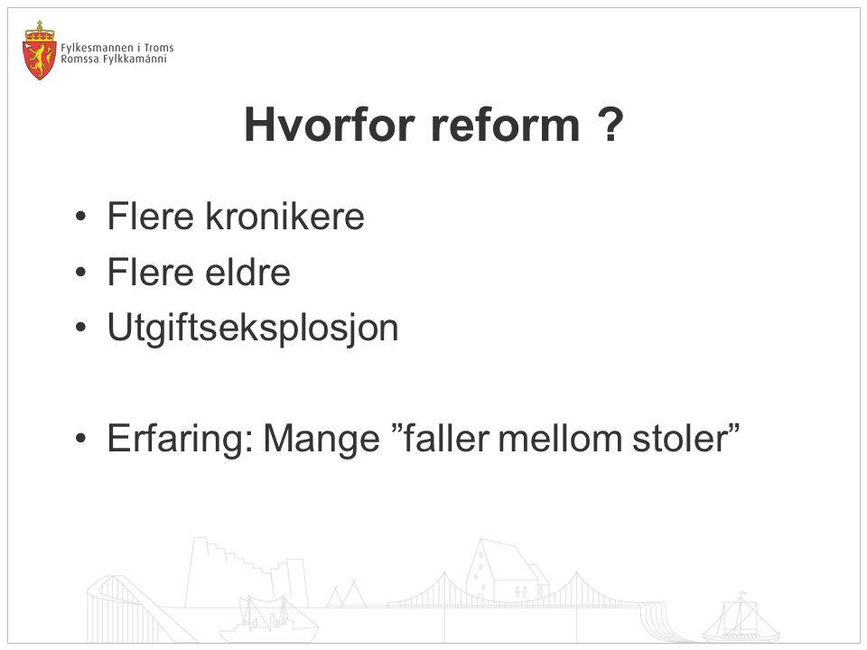 Utfordring 5: Kommunestørrelse Halvparten av alle norske kommuner har færre enn 5000 innbyggere - Skal vi få til bedre helsetjenester, må mer av behandlingen flyttes ut i kommunene.