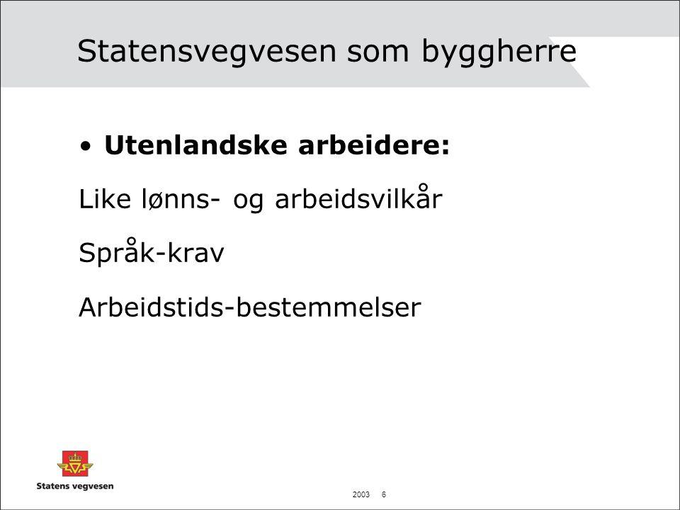 2003 27 Bjørvikaprosjektet Konfliktløsningsråd: Dersom en uenighet ikke avklares innefor partneringregimet, vil den kunne ankes til et konfliktløsningsråd.