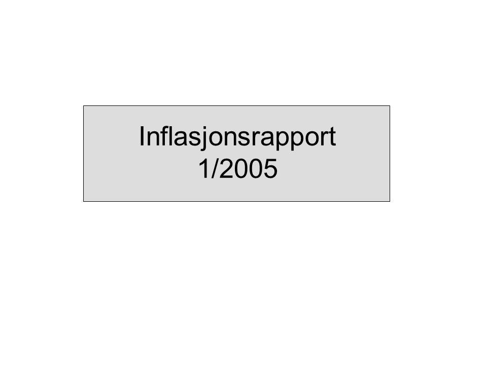 Inflasjonsrapport 1/2005