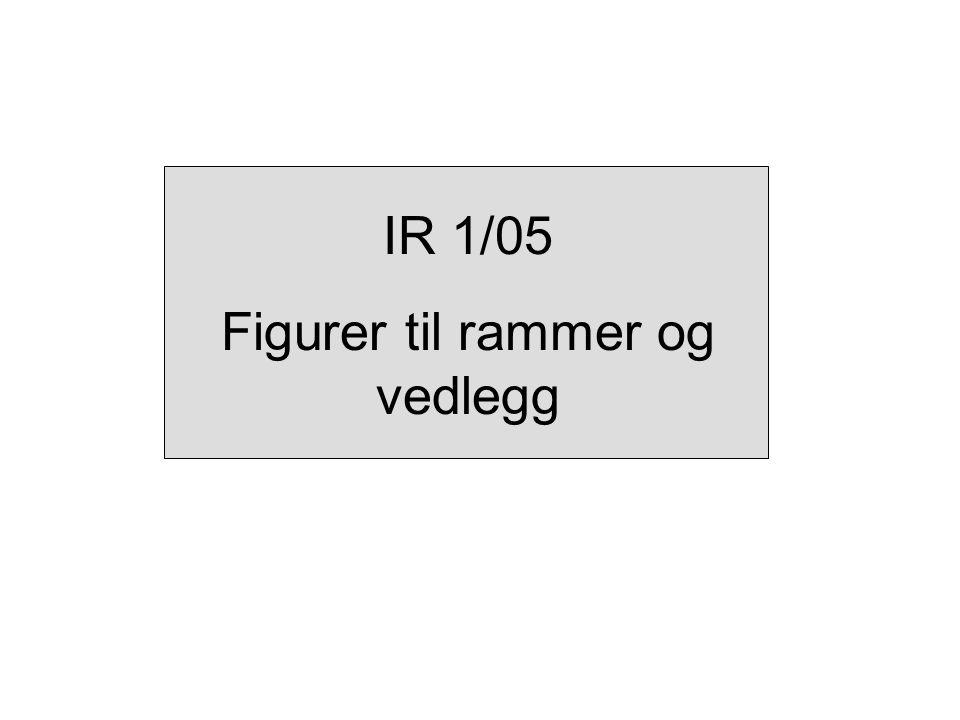 IR 1/05 Figurer til rammer og vedlegg