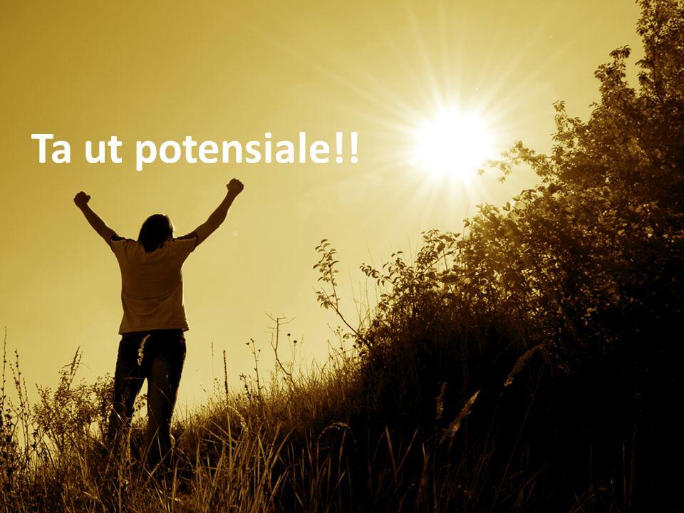 Ta ut potensiale!!