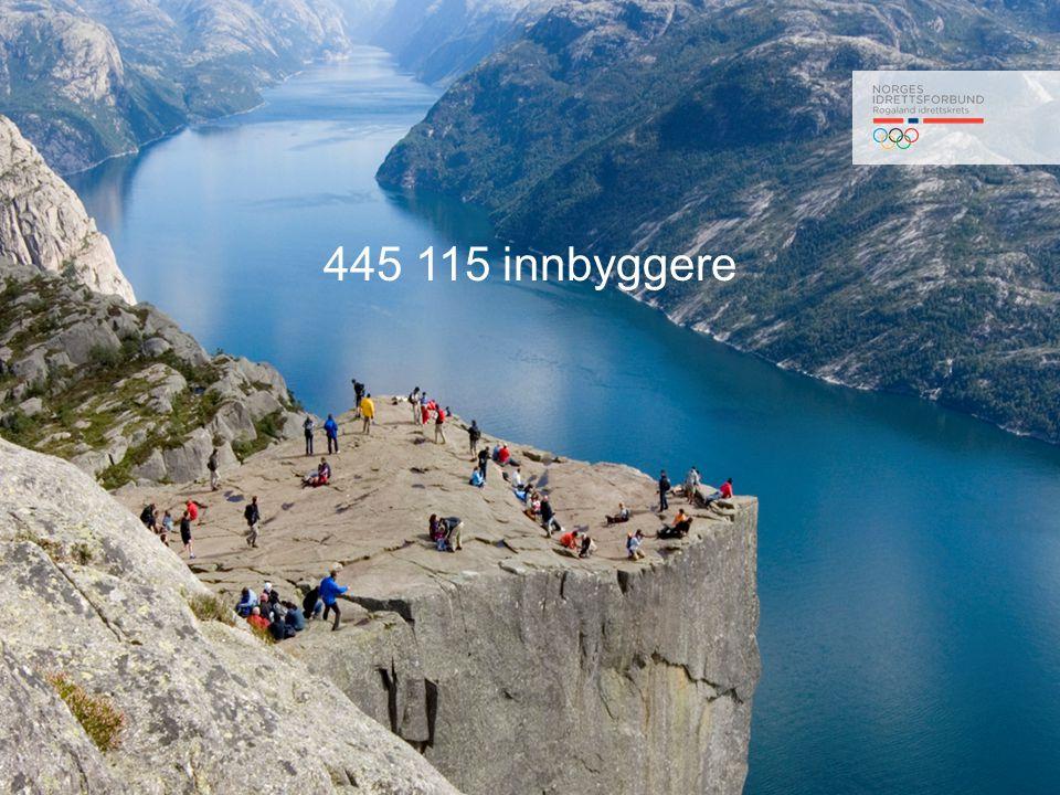 445 115 innbyggere