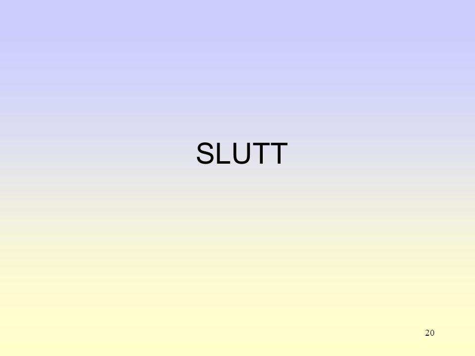20 SLUTT