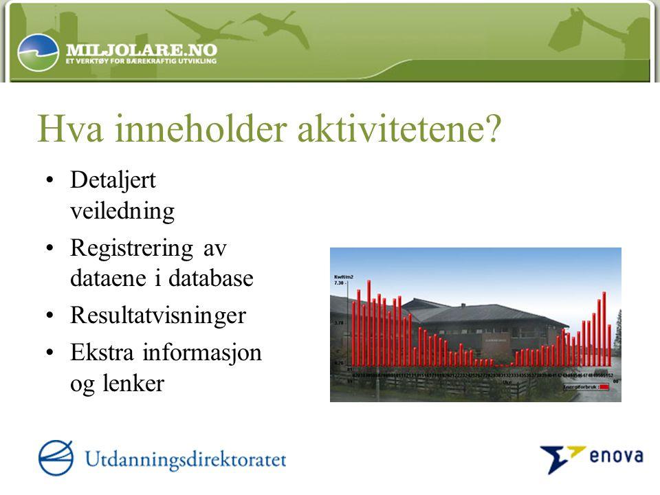 Smådyr i fjøra (VN13) Inneklima - Mål temperatur i klasserommet (BR8) Lav og luftforurensning (BN10) Lag økoprofil for en bolig (BR18) Avfall og gjenvinning (BR2) Prøv deg som arkeolog (BK3) Spor og sportegnSpor og sportegn (LN12)(LN12) Gamle gater og vegar (BK5) Forbruk og miljø (BR3) Avfall og gjenvinning (BR2) Kulturminnet vårt (BK1) Eventyr, sagn og fortellinger (VK2) Har du sett piggsvin.