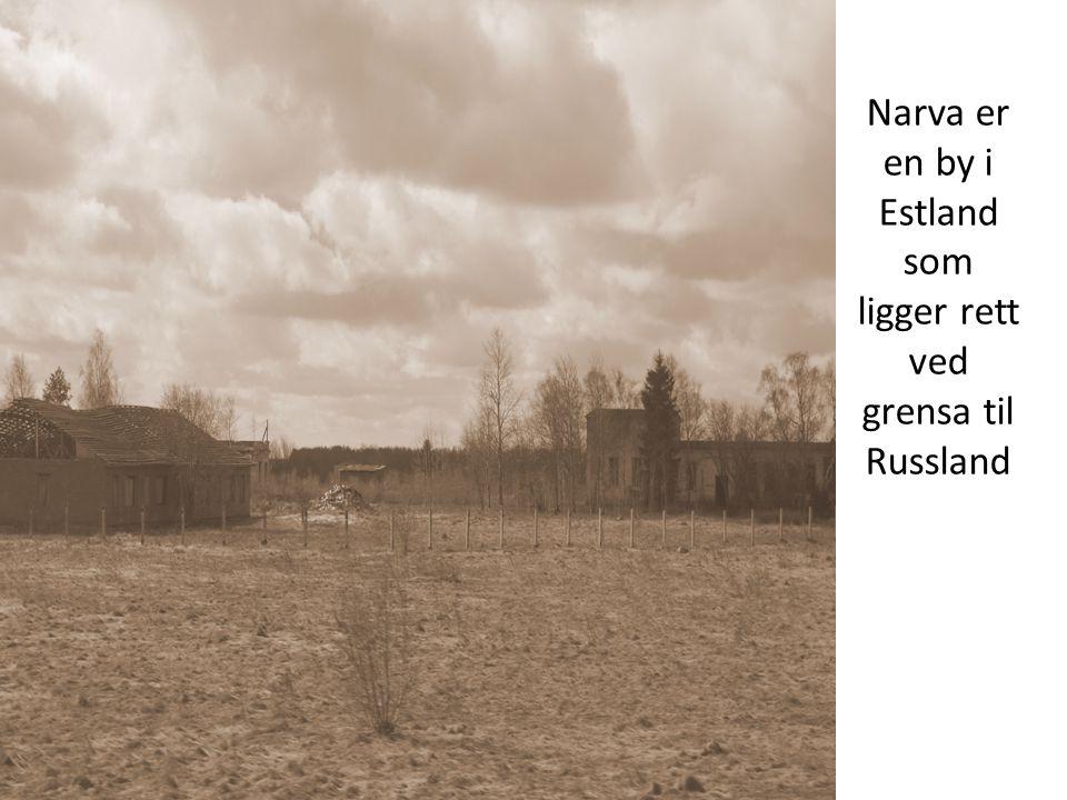 Narva er en by i Estland som ligger rett ved grensa til Russland
