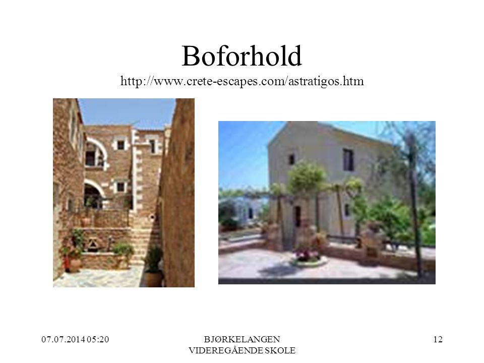 Boforhold http://www.crete-escapes.com/astratigos.htm 07.07.2014 05:21BJØRKELANGEN VIDEREGÅENDE SKOLE 12