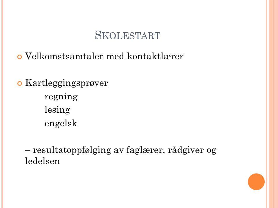 S KOLEDAGEN PÅ B ERG MandagTirsdagOnsdagTorsdagFredag 08.00- 09.35 1.