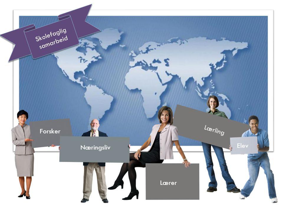 Forsker Næringsliv Lærer Lærling Elev Skolefaglig samarbeid