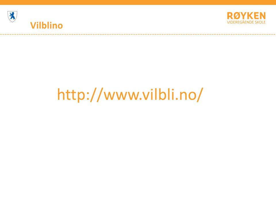 Vilblino http://www.vilbli.no/
