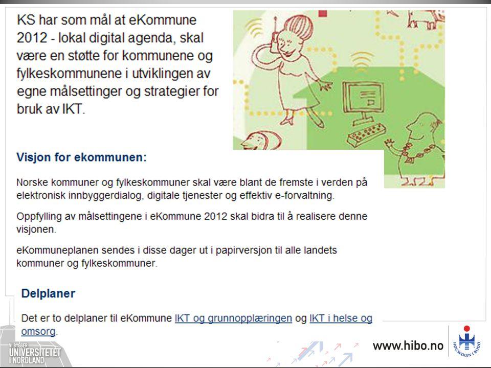 IKT og grunnopplæringen 2008–2012 – lokal digital agenda i skolen Delplan til eKommune 2012