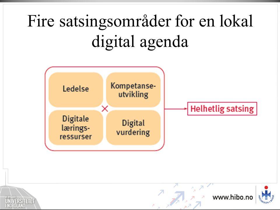 Flere uløste oppgaver Digital dannelse og nettvett må læres Digitale verktøy utnyttes for lite i fagene Tilgangen til digitale læringsressurser må forbedres Digital vurdering må bli mer innarbeidet IKT og læringsutbytte må dokumenteres bedre Erfaringer og gode eksempler må formidles IKT i lærerutdanningen må styrkes Barn og unges mediehverdag er kompleks
