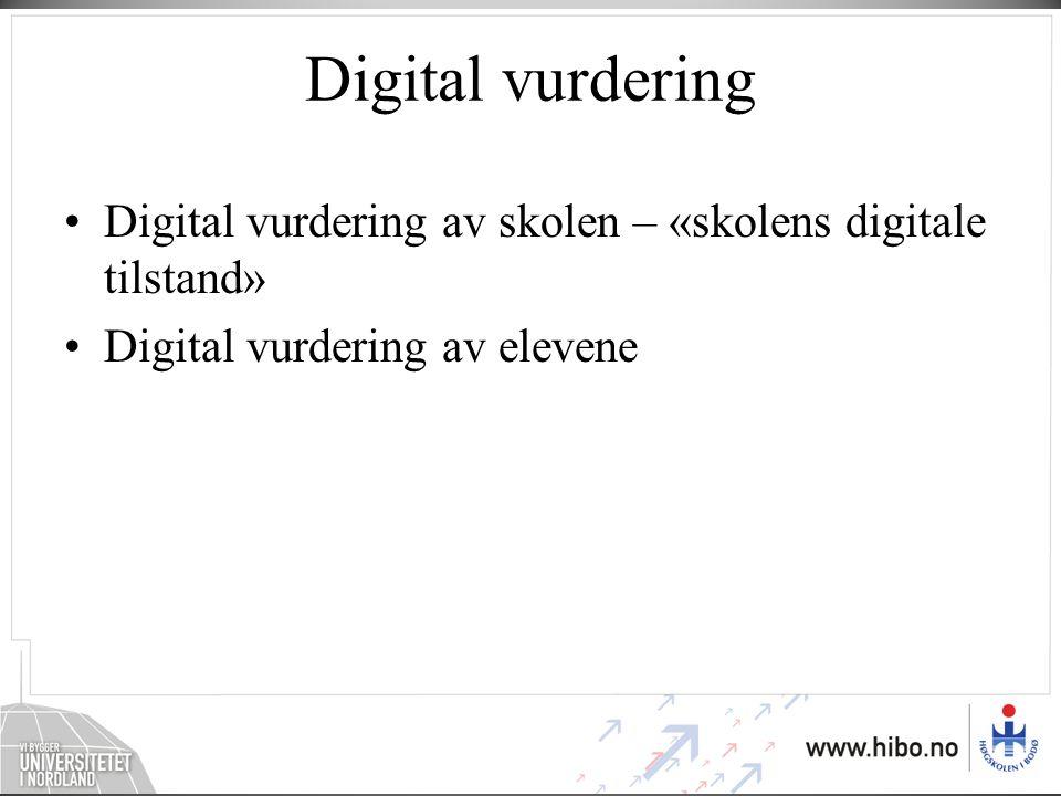 Digitale læringsressurser Utarbeide anbefalinger om innkjøp av digitale læringsressurser Feide gjennomføres – felles innloggingstjeneste: –En digital nøkkel for bruk i en digital skolehverdag Digitale læringsressurser baseres på åpne standarder