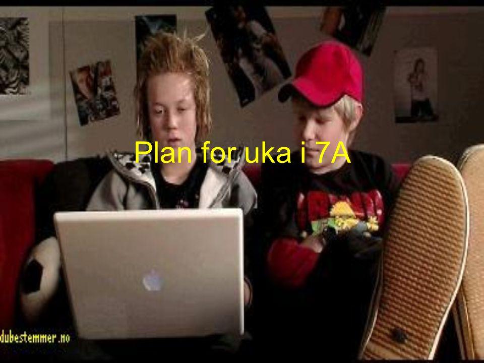 Plan for uka i 7A