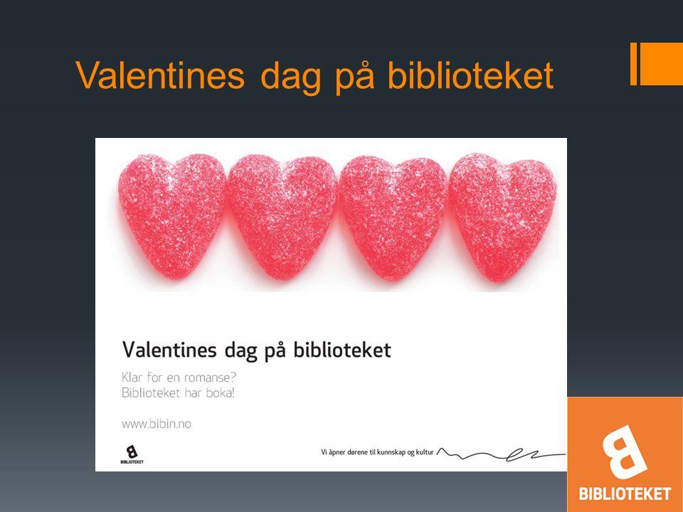 Valentines dag på biblioteket