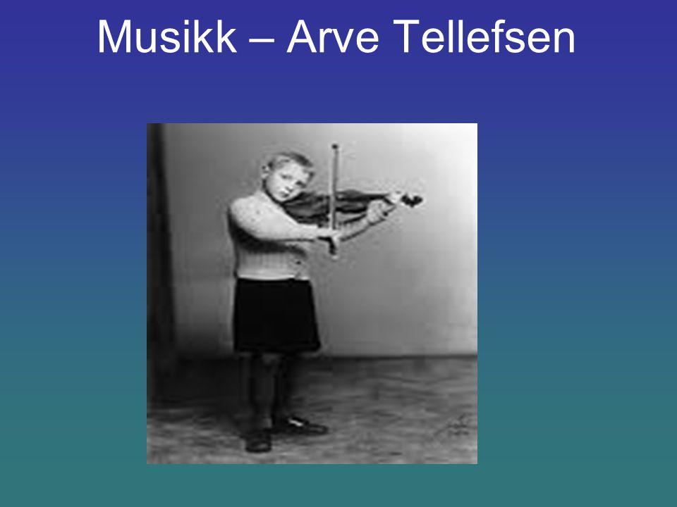 Musikk – Arve Tellefsen