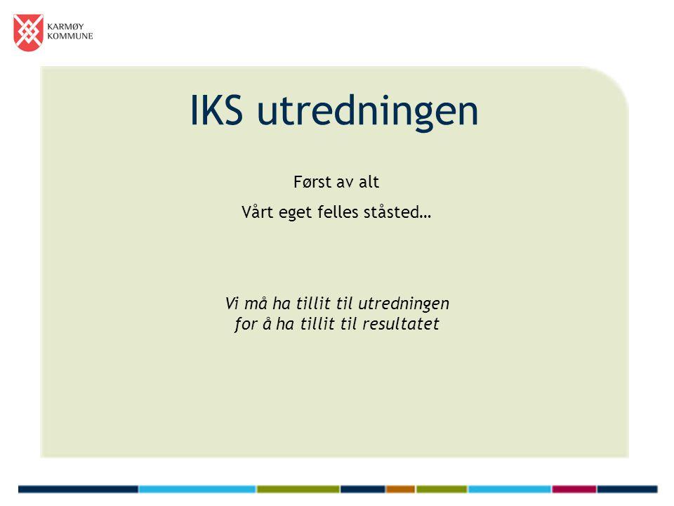IKS utredningen – hva er feil.