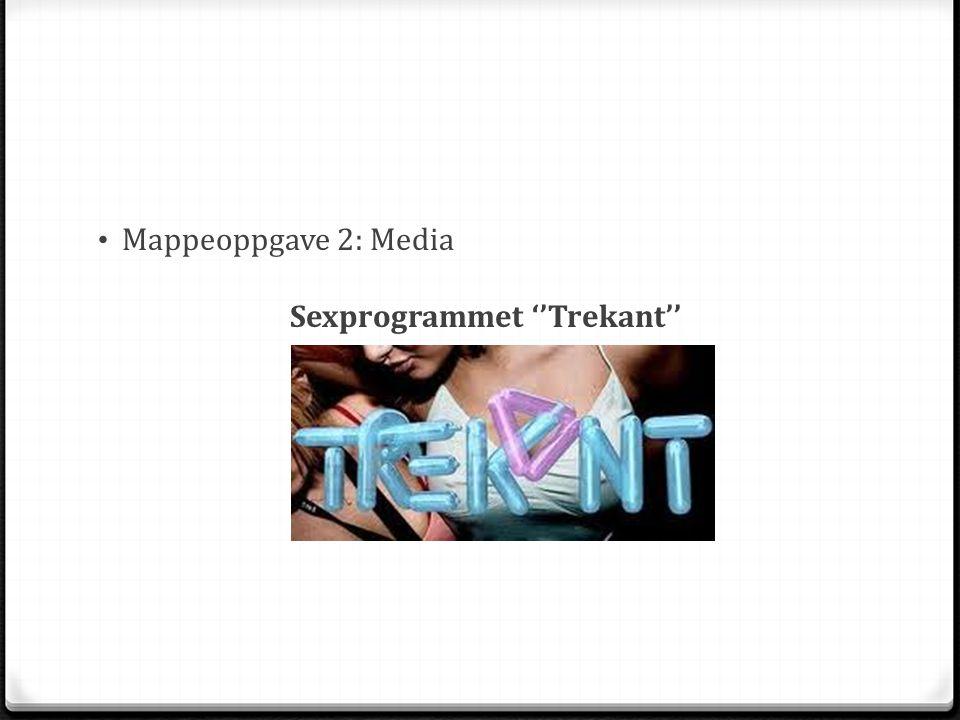Mappeoppgave 2: Media Sexprogrammet ''Trekant''