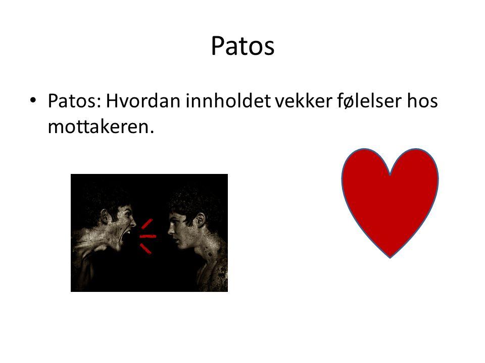 Patos Patos: Hvordan innholdet vekker følelser hos mottakeren.